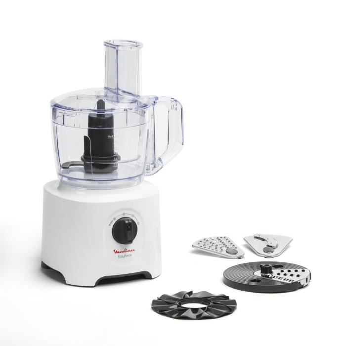 Moulinex Fp244110 Easy Force Robot Multifonction 700w Achat