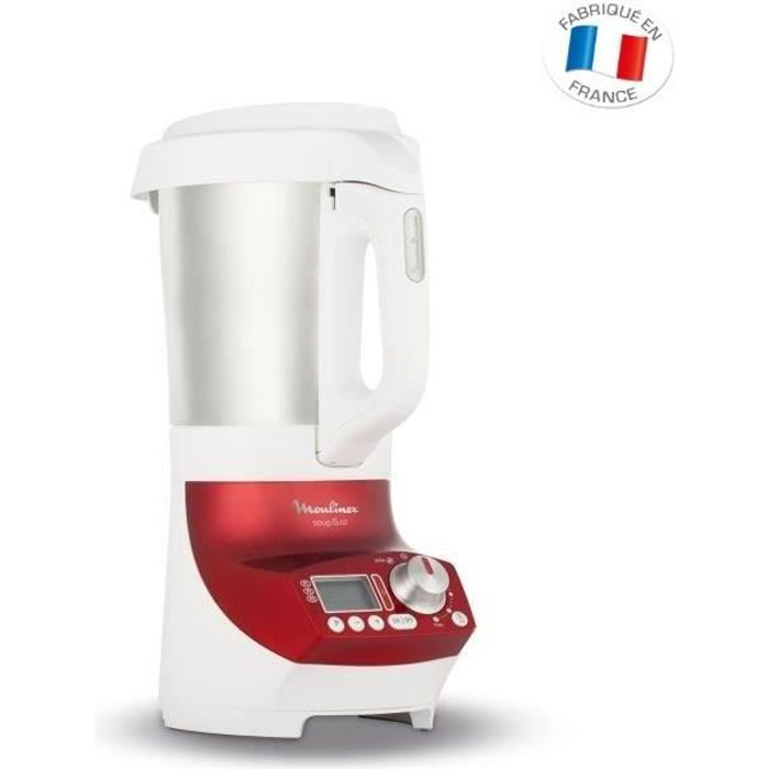moulinex soup co blender chauffant 2 l rouge lm906110 achat vente blender cdiscount. Black Bedroom Furniture Sets. Home Design Ideas