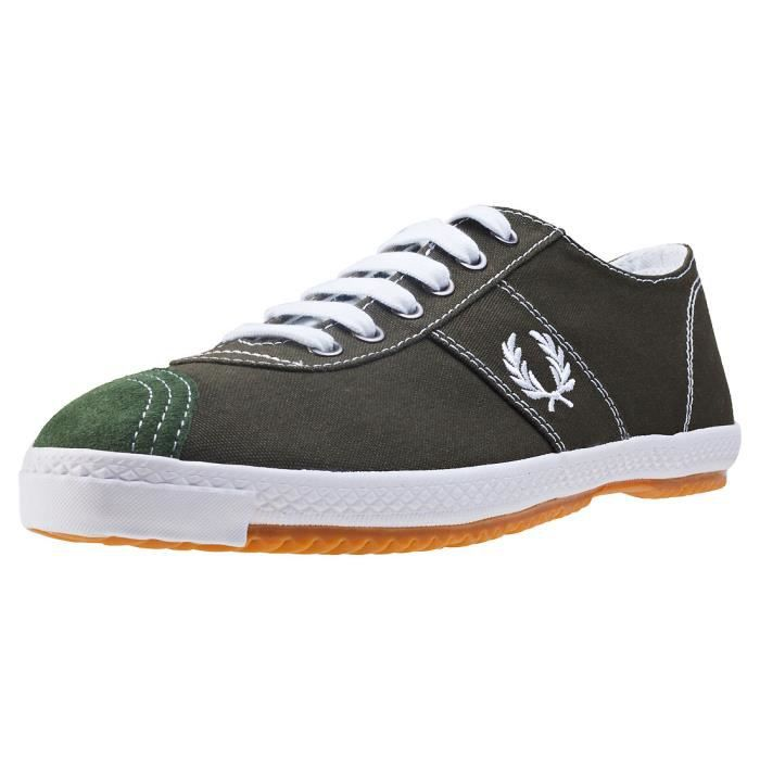 Fred Perry Table Tennis Reissue Hommes Baskets Forêt - 10 UK IKiFAH