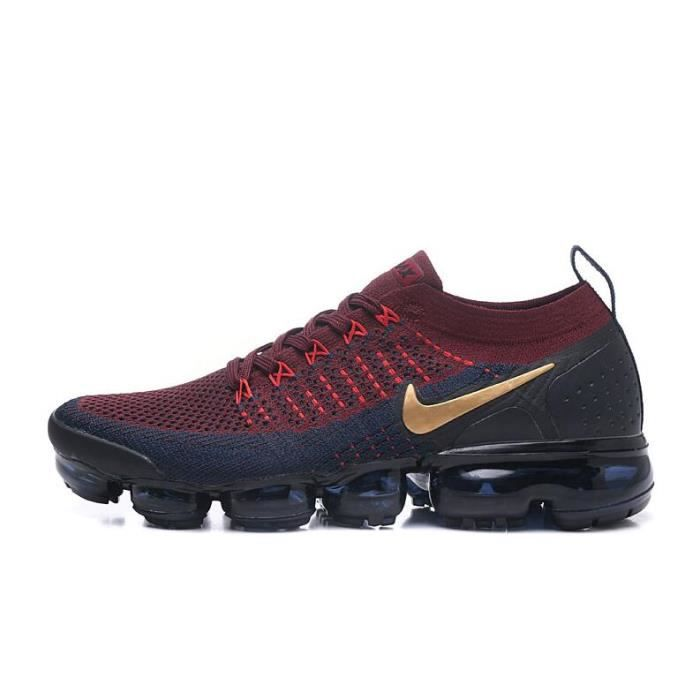 4ad1737dd7 Nike Air VaporMax Flyknit 2 Running Shoe - 942842-022 Rouge Rouge ...