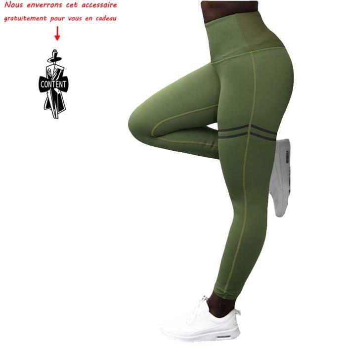 avec Poche Yoga Fitness Jogging Munvot Legging Capri Pantacourt de Sport Femme Coupe Genoux Amincissant