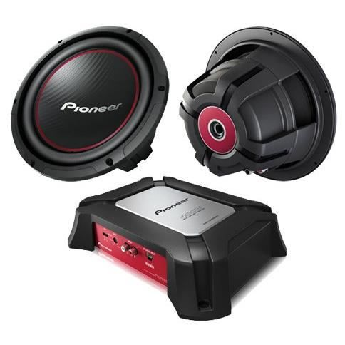 pioneer pack 2 subwoofers amplificateur achat vente subwoofer voiture pioneer pack 2. Black Bedroom Furniture Sets. Home Design Ideas
