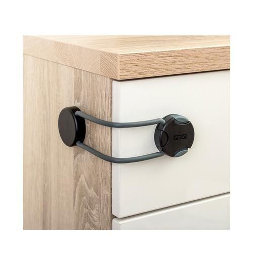 sécurité-Pack de 3 CLIPPASAFE Tiroirs Placard /& système de verrouillage-cuisine salle de bain