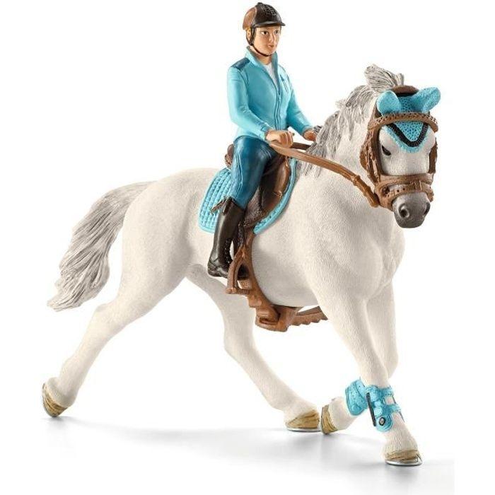 Schleich Nº 42359 loisirs cavalière avec cheval neuf!