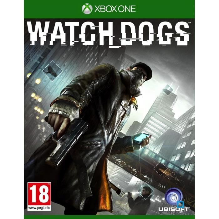 JEUX XBOX ONE Watch Dogs Jeu XBOX One