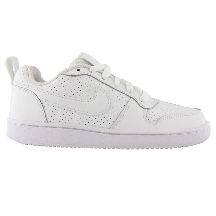 NIKE Baskets Borough Low - Femme - Blanc