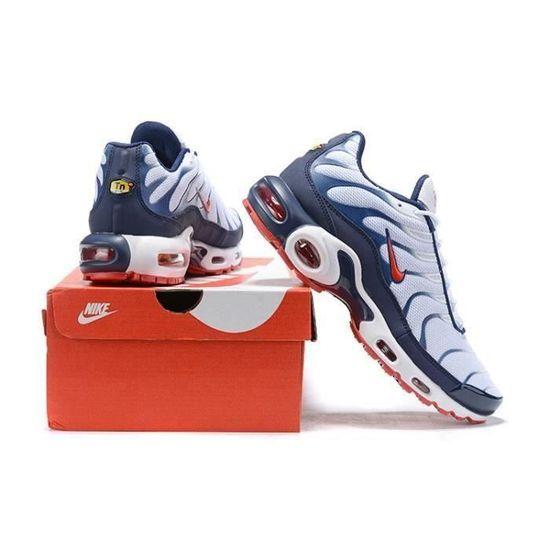 Basket Nike Air Max Plus TN TXT Chaussures Homme Entraînement Bleu ...