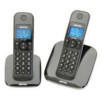 T�l�phone fixe SWITEL DC562 NOIR  DUO