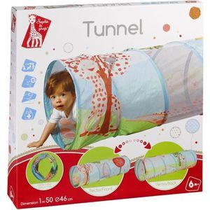 TAPIS ÉVEIL - AIRE BÉBÉ SOPHIE LA GIRAFE Tunnel