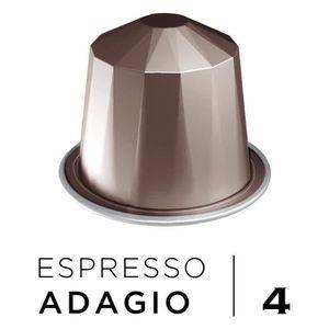 CAFÉ BELMIO Café Espresso Adagio Intensité 4 - Compatib