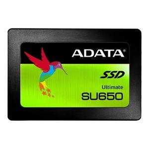 DISQUE DUR SSD ADATA Ultimate SU650 Disque SSD 480 Go interne 2.5