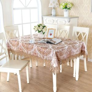 Nappe Table Basse Meilleur New Design Elegant Polyester Embroidery ...