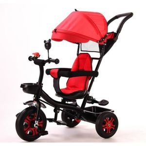 TRICYCLE Tricycle Evolutif - De 1 à 5 ans - Rouge - Bébé mi