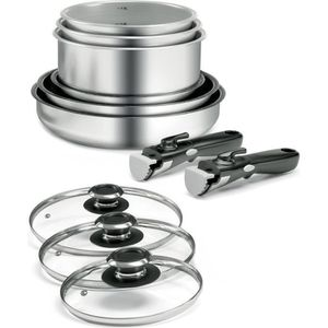 BATTERIE DE CUISINE BACKEN Batterie de cuisine 11 pièces en inox