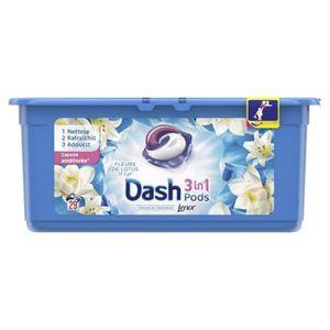 LESSIVE Dash Lenor 3en1 Pods Fleurs De Lotus et Lys (lot d