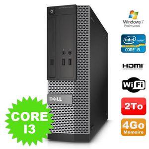 UNITÉ CENTRALE + ÉCRAN PC DELL Optiplex 3010 SFF Intel I3-2120 DVD 4Go 20