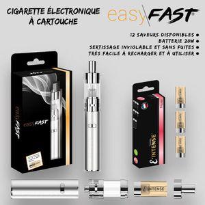 CIGARETTE ÉLECTRONIQUE Cigarette electronique Easy Fast ® + 3 cartouches