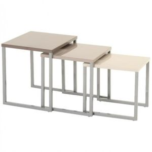 Table basse exterieur achat vente table basse for Wohnzimmertisch taupe