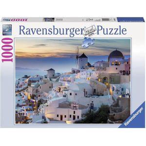 PUZZLE RAVENSBURGER Puzzle 1000 p - Santorin