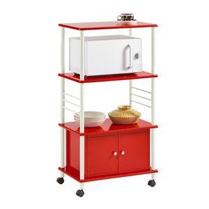 DESSERTE - BILLOT SoBuy® FRG12-R Meuble rangement cuisine roulant en