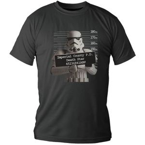 T-SHIRT STAR WARS T-shirt Stormtrooper Police Record