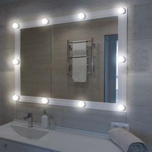 MIROIR ÉLECTRIQUE XCSOURCE Ensemble de lumières miroir vanité LED st