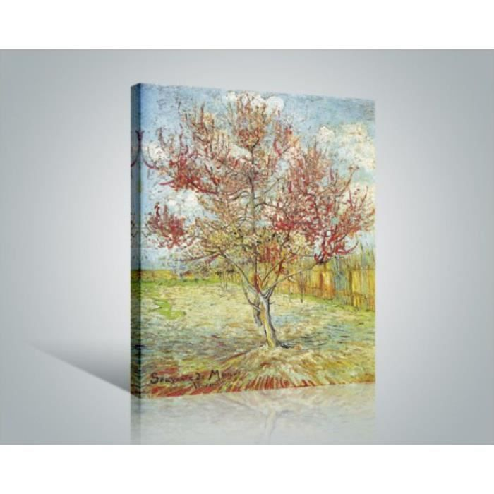 vincent van gogh poster reproduction sur toile tendue sur ch ssis p cher en fleur souvenir. Black Bedroom Furniture Sets. Home Design Ideas