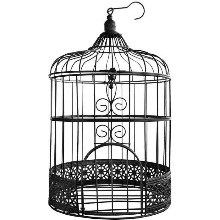 cage oiseau decorative achat vente cage oiseau. Black Bedroom Furniture Sets. Home Design Ideas