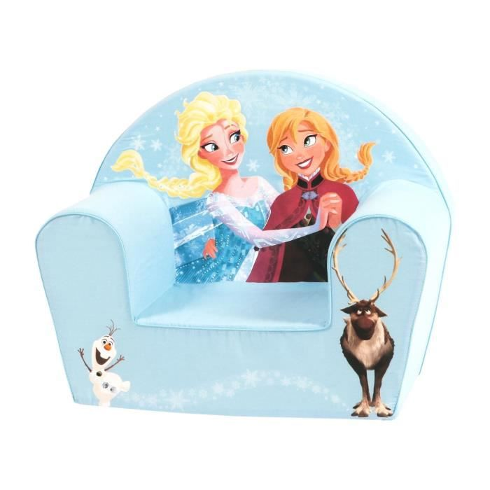 la reine des neiges fauteuil anna et elsa bleu et blanc. Black Bedroom Furniture Sets. Home Design Ideas