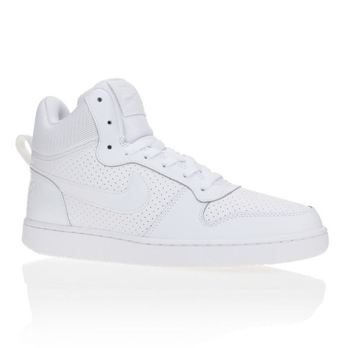 Officiel Homme NIKE Baskets Recreation Mid Chaussures Cuir