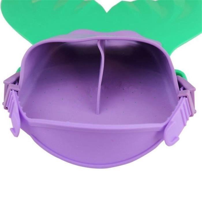 Maillots de bain pour enfants Mermaid Fin Mermaid Monofin Tail Flipper PACK PRODUITS DE FITNESS ET MUSCULATION_LR1126