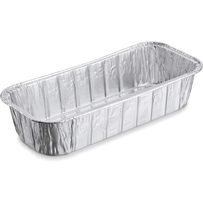 Bacs de récupération pour barbecue Weber Aluminium Barquettes pour Barbecue, Argent 59