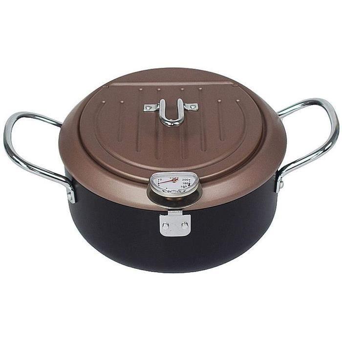 FRITEUSE Qualit Premium La friteuse est dote dune poigne rivete et en forme darc de style japonais sre et ferme utiliserbr Con1255