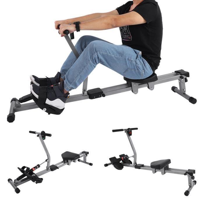 Accessoire de forme physique de gymnastique à la maison de formation de corps de rameur cardio de rameur en acier de machine-XID