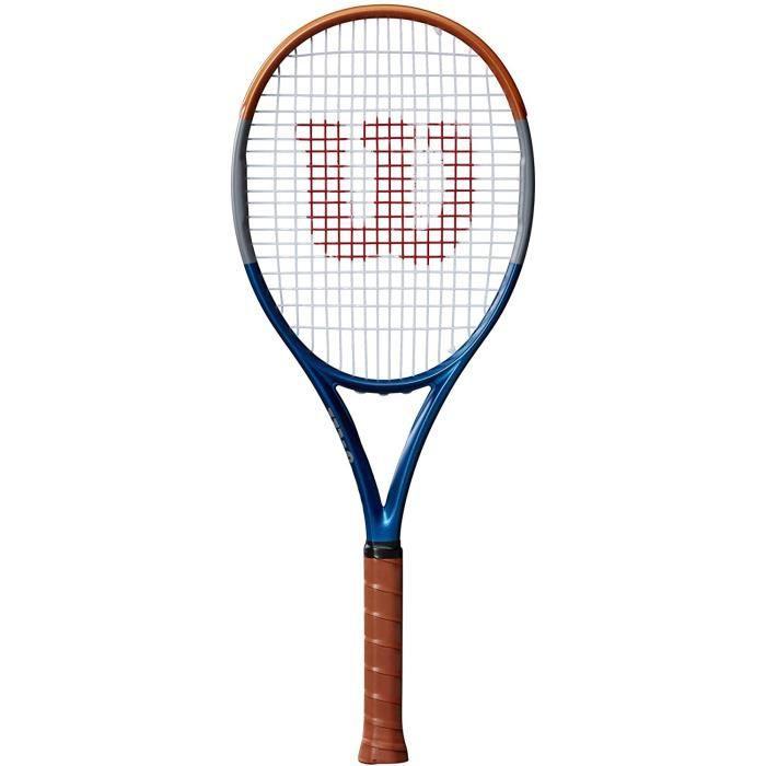 WILSON RG Mini Racket Raquettes de Tennis Un x-Adult, Blue-Grey-Orange, One Size A6