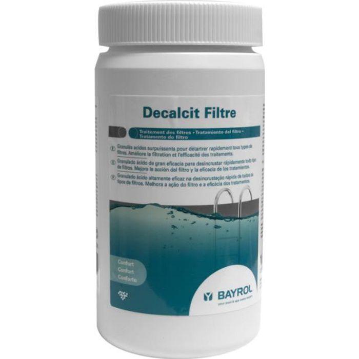 Decalcit Filtre - 1kg - Bayrol