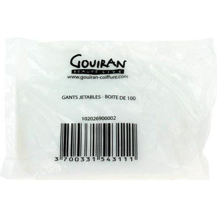 Beautélive, Gants jetables x 100 Blanc Jetable- Matériel de coiffure Coloration Cheveux