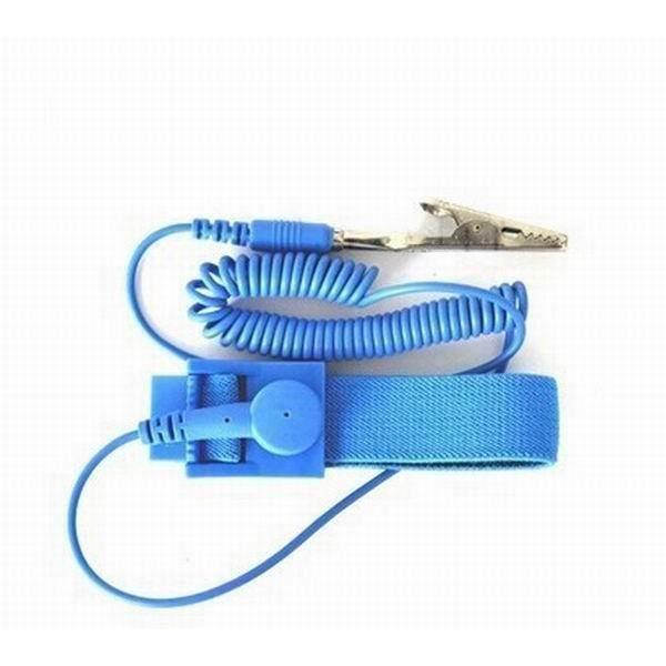 Kingwing® Anti statique ESD bracelet sangle décharge statique-Release avec Clip mise à la terre