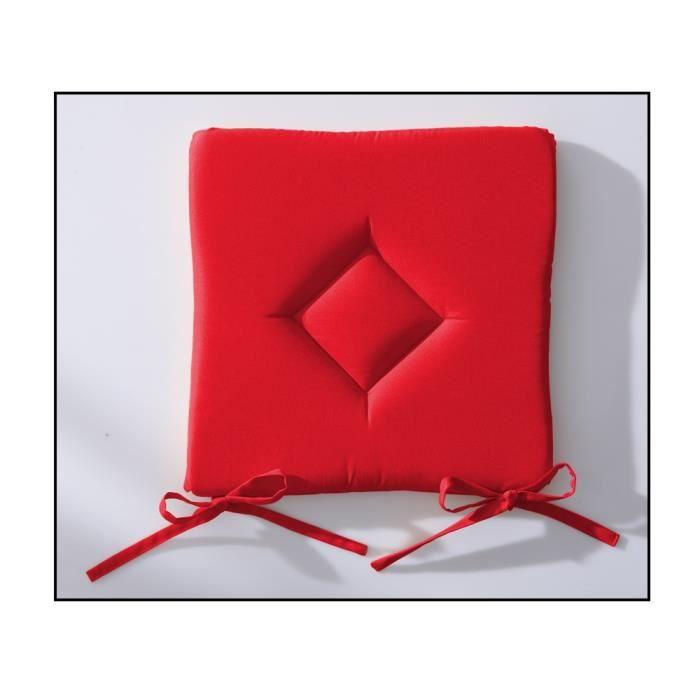 Galette de chaise 40x40 cm today pomme d'amour