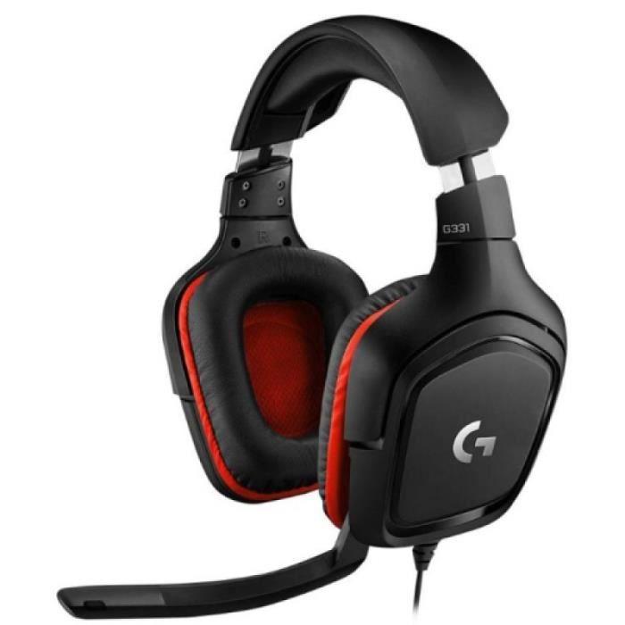 Casque Avec Microphone - Logitech G331 Dolby 7.1 Surround Sound Stereo Folding Noise Reduction Competition Gaming Casque écouteur