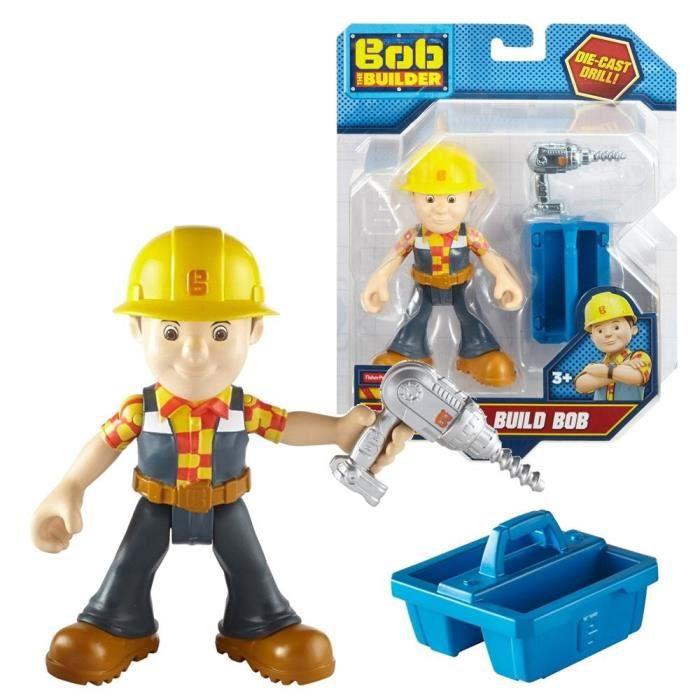 Bob avec Boîte à Outils - Bob le Bricoleur - Jeu Figure de Jeu