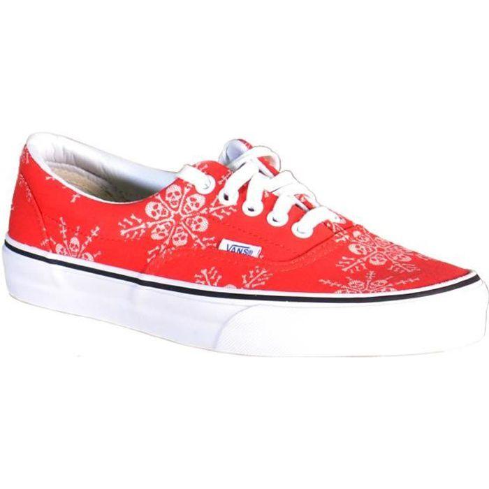 Vans Era Van Doren Chaussures de Sport pour Homme Rouge Toile 3Z5HWZ