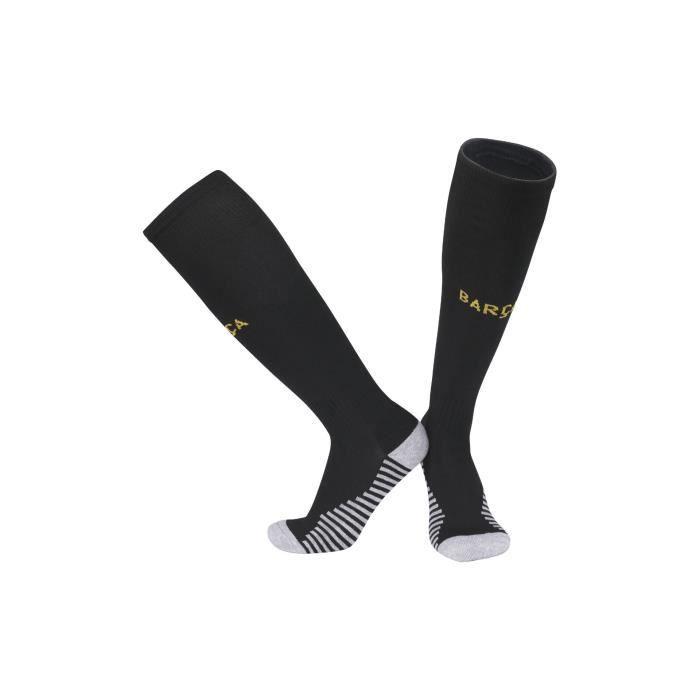 Blanc542021 Barca Real Madrid Liverpool chaussettes bas de serviette pour hommes et femmes chaussettes de football antidérapantes