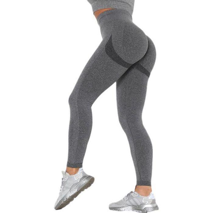 Legging de sport - Push-Up sans couture - Grey-leggings