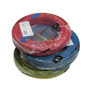 Fil éléctrique 1.5 mm2, 1 bobine 100 m, h07vu - Couleur du fil: violet