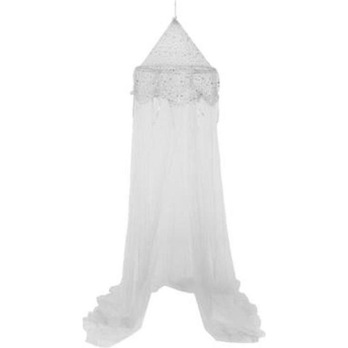 Ciel de Lit -Demoiselle- 250cm Argent