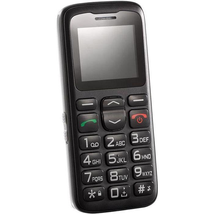 Téléphone portable grandes touches XL 915 v.2 avec fonction Garantruf® Premium