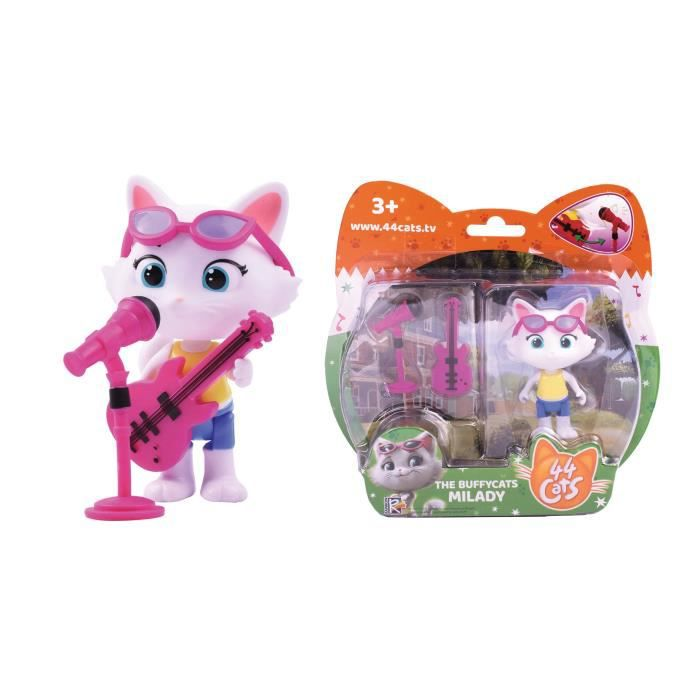 Figurine Milady + Basse 44CATS - SMOBY