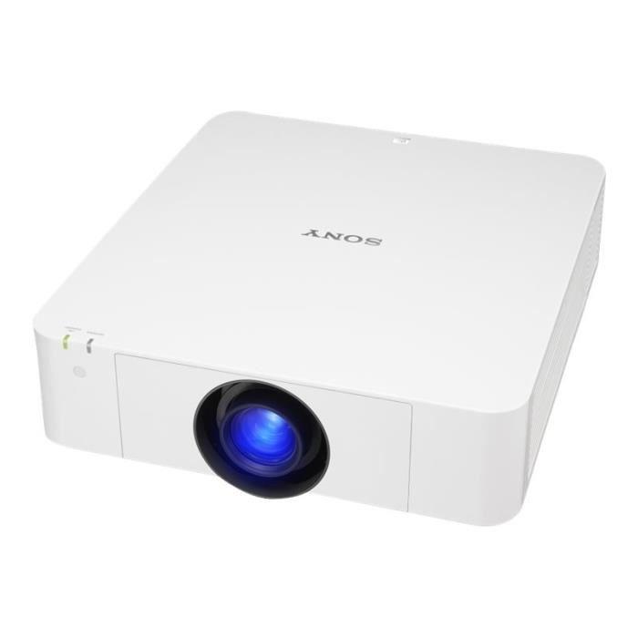 Sony VPL-FH65 - Projecteur 3LCD - 6000 lumens - WUXGA (1920 x 1200) - 16:10 - HD 1080p - objectif zoom