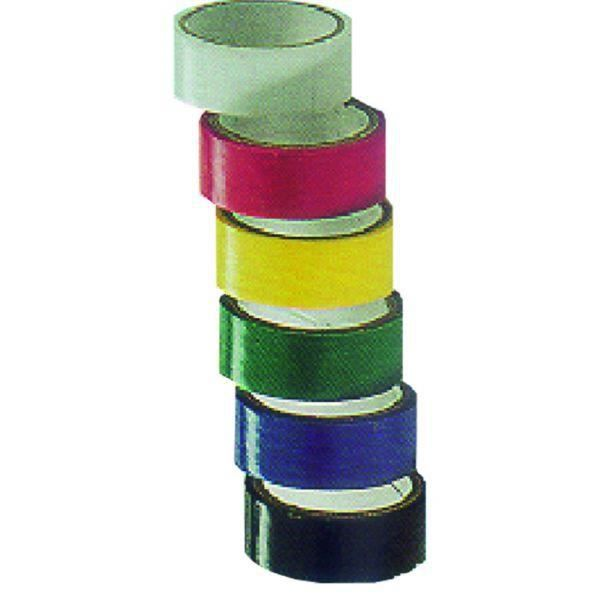 VOLTMAN Lot de 6 rubans adhésifs isolants - Longueur : 5 mètres